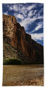 Santa Elena Canyon 1 Beach Towel