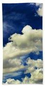 Santa Fe Clouds Beach Towel