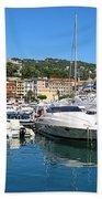 Santa Margherita Ligure Panoramic Beach Towel