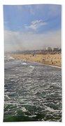 Santa Monica Beach Beach Towel