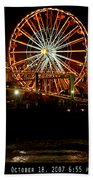 Santa Monica Pier October 18 2007  Beach Towel