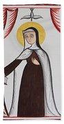 Santa Teresa De Avila - St. Teresa Of Avila - Aotda Beach Towel