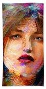 Santia Beauty Face 1062 Beach Towel