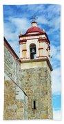 Santo Domingo Church Spire Beach Towel