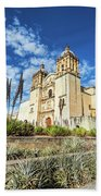 Santo Domingo Church Wide Angle Beach Towel