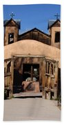 Santuario De Chimayo Adobe Chapel Beach Towel