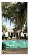 Sapelo Mansion  Beach Towel