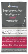 Sapiosexuality Intelligence And Attraction Beach Towel