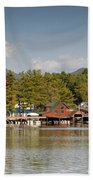 Saranac Lake Beach Towel