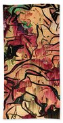 Sargam Abstract A1 Beach Towel