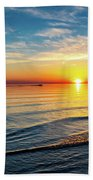 Sauble Beach Sunset 4 Beach Towel