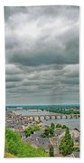 Saumur, Chateau, Loire, France Beach Towel