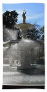 Savannah Fountain Beach Towel