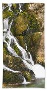 Savica Waterfall Beach Towel
