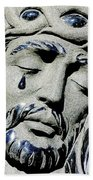 Saviours Sorrow Beach Towel