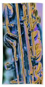 Saxophone Beach Towel