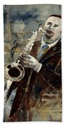Saxplayer 570120 Beach Towel