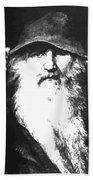 Scandinavian Mythology The Ancient God Odin Beach Towel
