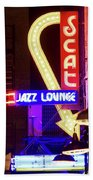Scatt Jazz Lounge 030318 Beach Towel