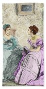 Scene From Anthony Trollope's Novel He Knew He Was Right Beach Towel