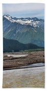 Scenic Alaska Color  Beach Towel