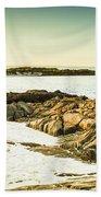 Scenic Coastal Dusk Beach Towel