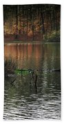 Scenic Elder Lake Beach Towel