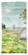 Scenic Maine   Beach Towel