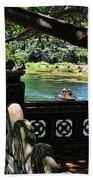 Scenic Tam Coc Boat Tour Beach Towel