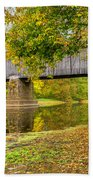 Schofield Bridge Over The Neshaminy Beach Towel