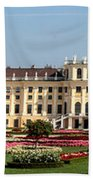 Schonbrunn Palace And Gardens Beach Towel