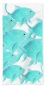 School Of Fish Beach Towel