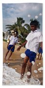 School Trip To Beach IIi Beach Towel