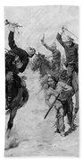 Schreyvogel: Attack, 1905 Beach Towel