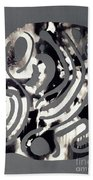 Scissor-cut Abstraction Beach Towel
