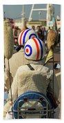 Scooter Mods And Helmets Beach Sheet