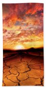 Scorched Earth Beach Towel
