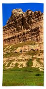 Scots Bluff National Monument Beach Towel