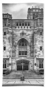 Scottish Rite Cathedral Beach Towel by Howard Salmon