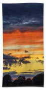 Scottish Sunset Beach Towel