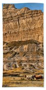 Scotts Bluff National Monument Beach Towel