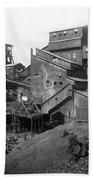 Scranton Pennsylvania Coal Mining - C 1905 Beach Towel