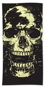 Scream Beach Towel