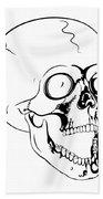 Screaming Skull Beach Towel