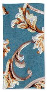 Scrolled Whimsy Beach Towel