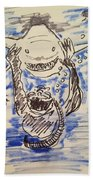 Scuba Diving With Sharks Beach Towel