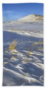 Sculpted By The Wind Beach Towel