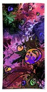 Sea Creatures Beach Towel
