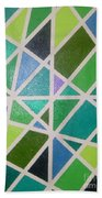 Sea Glass Revisited Beach Towel