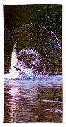 Sea Gull Abstract Beach Towel